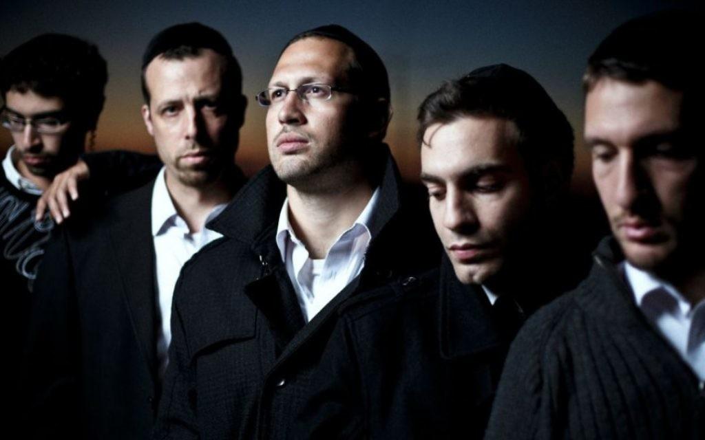 Le groupe de rock et de hip-hop Shtar de Beit Shemesh Shtar (Crédit : Yirmiyahu Vann)