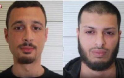 Un tribunal britannique a jugé coupable Zakaria Boufassil et Mohammed Ali Ahmed d'avoir remis plus d'un millier de dollars à Mohammed Abrini, suspect des attentats de Paris et de Bruxelles, le 12 décembre 2016. (Crédit : capture d'écran YouTube)