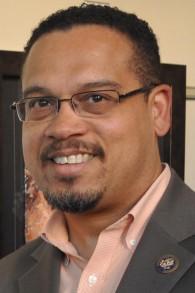 Keith Ellison,  élu à la Chambre des Représentants en novembre 2006 dans le cinquième district du Minnesota. (Crédit : Facebook)