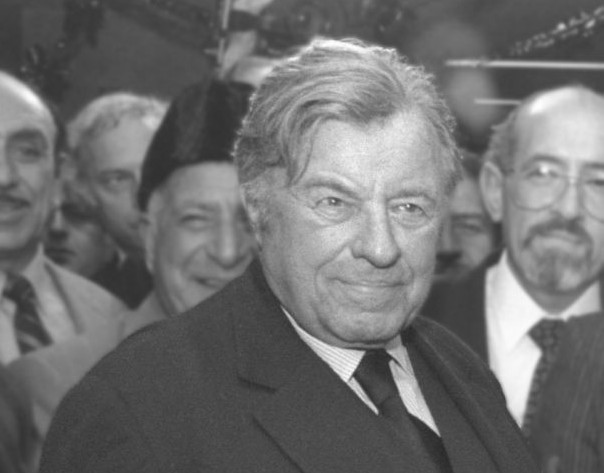 Teddy Kollek, maire de Jérusalem entre 1965 et 1993. (Crédit : GPO)
