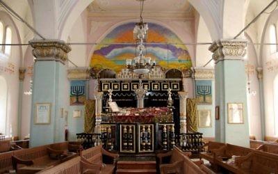La synagogue d'Oni en Géorgie. (Crédit : CC BY-SA, Susan Astray, Flickr)