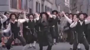 """Extrait du film """"Les aventures de Rabbi Jacob"""", sorti en 1973. (Crédit : capture d'écran YouTube)"""