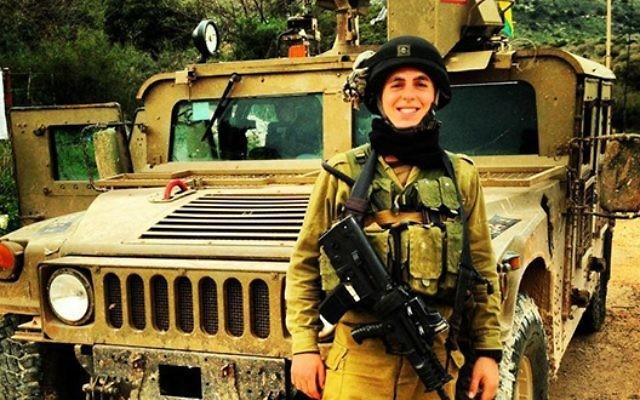 Sean Carmeli, soldat isolé tombé en 2014 à Gaza