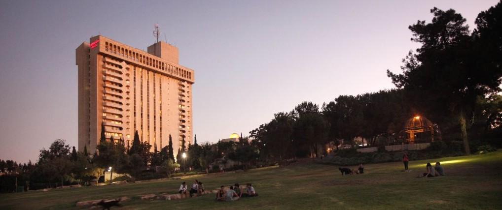 Le Leonardo Plaza Hotel à Jerusalem, le 24 août 2011. (Crédit : Miriam Alster/FLASH90)
