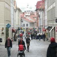 Une rue de la ville suédoise de Gothenburg. Illustration. (Crédit : Erik of Gothenburg/CC BY-SA 3.0/Wikipedia)