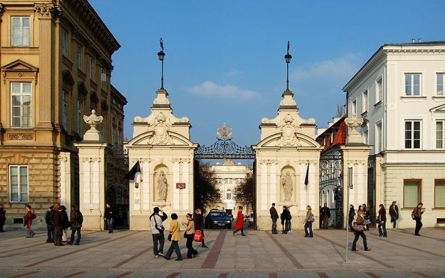 Université de Varsovie (Crédit : CC BY-SA 3.0/Marcin Białek)