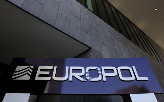 Le siège d'Europol à La Haye. (Crédit : Lex van Lieshout/ANP/AFP)