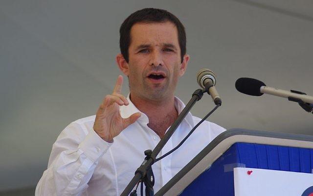Benoît Hamon à La Fête de la Rose du PS 44, à Préfailles, le 15 septembre 2009. (Crédit : Pleclown/CC SA 3.0/Wikimedia commons)