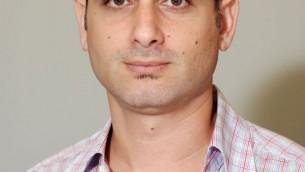 Le docteur Amir Bahar de Nurami Medical. (Crédit : Veronica Szarejko)