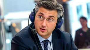 Andrej Plenkovic (Crédit : wikimedia commons/euranet_plus/CC BY SA 2.0)