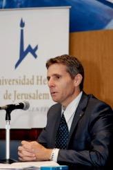 Le professeur Yuval Shany de l'université hébraïque de Jérusalem (Crédit : Autorisation)
