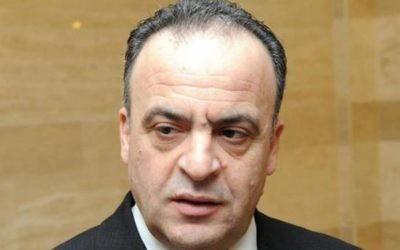 Le Premier ministre syrien Imad Khamis. (Crédit : Abdulhakim bosliem/CC BY-SA 4.0/WikiCommons)