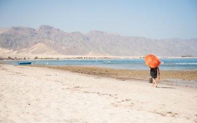 Photo d'illustration d'une station balnéaire dans la péninsule du Sinaï le 16 octobre 2016 (Crédit : Johanna Geron/FLASH90)