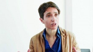 Masha Gessen, auteure de Where the Jews Aren't. (Crédit : Lee Towndrow)