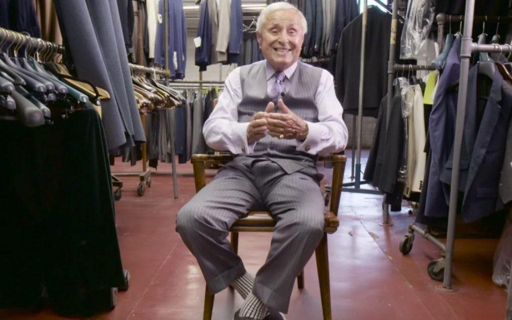 Martin Greenfield, homme d'affaires et auteur de 'Measure of a Man: From Auschwitz Survivor to Presidents' Tailor.' (Capture d'écran)