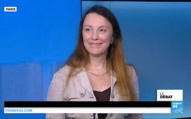 L'essayiste Isabelle Kersimon lors d'un passage sur LCI (Crédit: capture d'écran)
