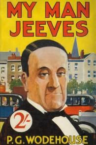 La couverture de My man Jeeves, de P.G. Wodehouse. (Crédit : domaine public/Wikimedia)