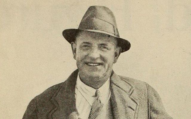 L'auteur P.G. Wodehouse en 1930. (Crédit : domaine public/Wikimedia)