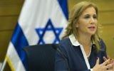 Aliza Lavie en réunion de la commission sur le Statut des femmes à la Knesset, le 3 septembre 2014. (Crédit : Noam Revkin Fenton/Flash90)