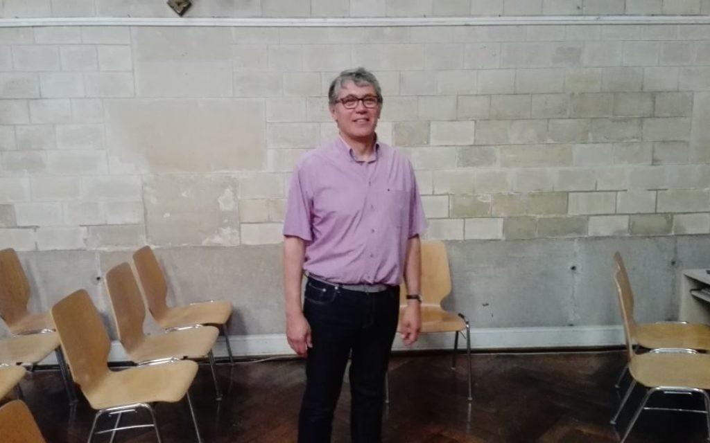 Xavier Darrieufort, directeur général de Ebenezer,  une association protestante qui aide les Juifs à faire leur alyah (Crédit: Arthur Lancry)