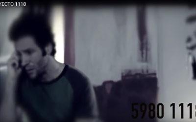 Capture d'écran d'une publicité pour une hotline ouverte 24 heures sur 24 lancée par la communauté juive du Mexique pour offrir un soutien en cas de pensées suicidaires, de violence familiale, de dépression et toutes les situations difficiles