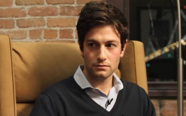 Joshua Kushner en 2014. (Crédit : vapture d'écran YouTube/Tech Crunch)