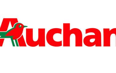 Logo de la marque Auchan (Crédit : wikimedia commons)