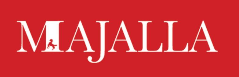 Le logo du magazine saoudien Majalla, édité à Londres