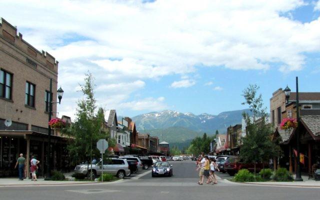 La ville de Whitefish, dans l'État du Montana (USA), le 11 juillet 2011. (Crédit : CC BY -ted, Flickr)