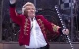 Le rockeur écossais Rod Stewart en concert. Illustration. (Crédit: capture d'écran YouTube)