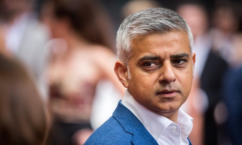 Sadiq Khan, le maire de Londres, le 30 juillet 2016. (Crédit : Rob Stothard/Getty Images)