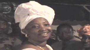 Mamadie Toure en 2006. (Crédit : capture d'écran)