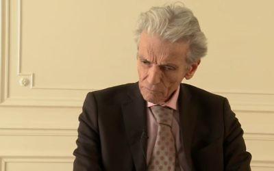 Thierry Lévy, sur  le plateau de Ce soir ou jamais. (Crédit: capture d'écran/Youtube)