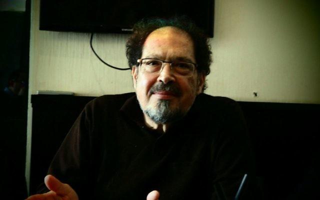 L'intellectuel Shmuel Trigano présenté Dialogia créée en compagnie de Max Benhamou. (Crédit: Arthur Lancry)