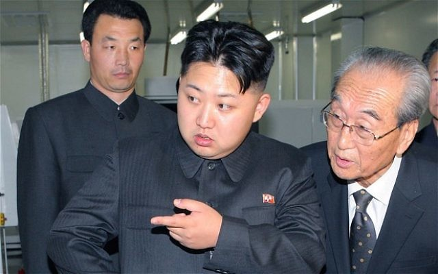 Kim Jong-Un, le dirigeant nord-coréen, en décembre 2011. (Crédit : Zennie Abraham/CC BY 2.0/Flickr)