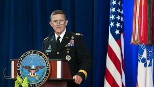 Michael T. Flynn en 2012 (Crédit : domaine public)
