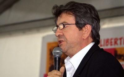 Jean-Luc Mélenchon à la Fête de l'Humanité, en 2008. (Crédit : CC BY 2.0)