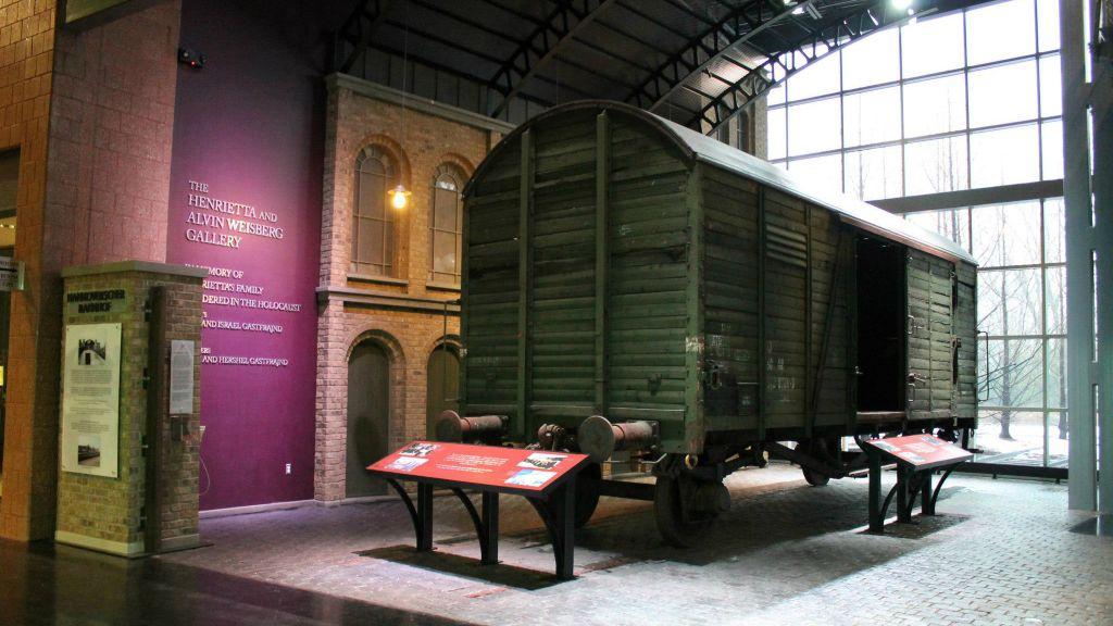 A l'intérieur du musée de l'Holocauste de Détroit à Farmington Hills, dans le Michigan. (Facebook)