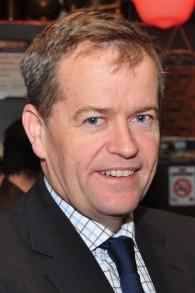 Bill Shorten, chef de l'opposition australienne et président du Parti travailliste du pays. (Crédit : Peter Campbell/CC BY-SA/Wikimedia Commons)