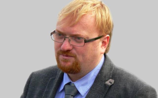 Vitali Milonov (Crédit : wikimedia commons)