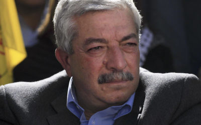 Mahmoud al-Aloul en janvier 2010. (Crédit : Issam Rimawi/Flash90)