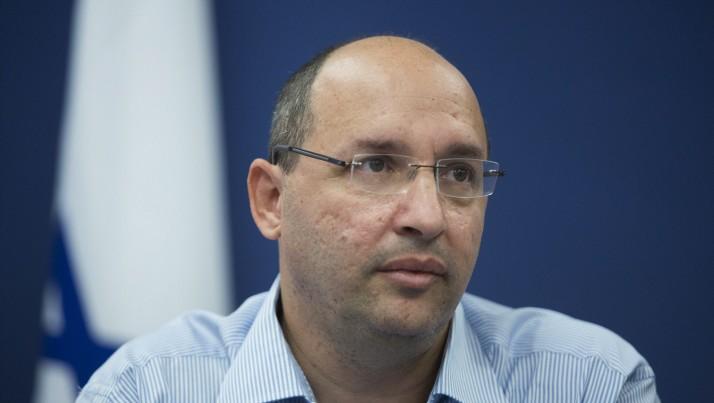 Avi Nissenkorn, président de la Histadrout, à Jérusalem, le 7 octobre 2014. (Crédit : Yonatan Sindel/Flash90)