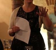 Jessica Halfin, d'origine américaine, dirige des visites touristiques gastronomiques à Haïfa (Autorisation : Avi Shumacher)