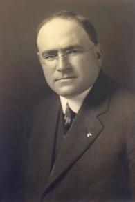Leopold David, premier maire d' Anchorage, Alaska. (Crédit : AJM)