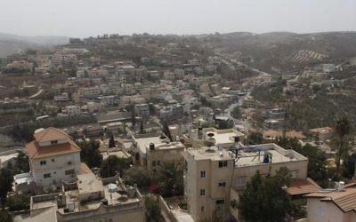 Le village arabe de  Musheirifa, dans le nord d'Israël. (Crédit : CC BY-SA/Wikipedia)