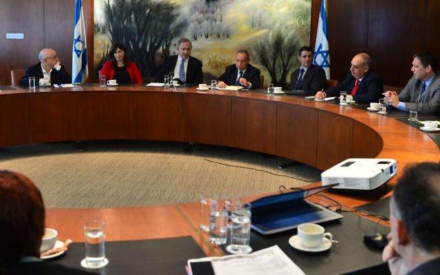 Le Premier ministre Benjamin Netanyahu et les ambassadeurs d'Israël africains (Crédit : Kobi Gideon/GPO)