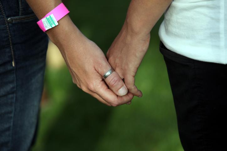 Photo illustrative du mariage (Crédit: Yossi Zamir/Flash 90)