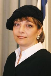 La juge Yael Willner. (Crédit : ministère de la Justice)