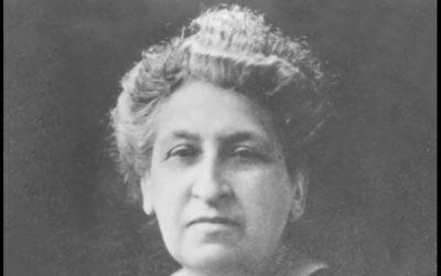 Aletta Jacobs, pionnière dans la lutte pour les droits des femmes, commémorée par Google à l'occasion du 163e anniversaire de sa naissance, le 9 février 2017 (Crédit : Capture d'écran YouTube)
