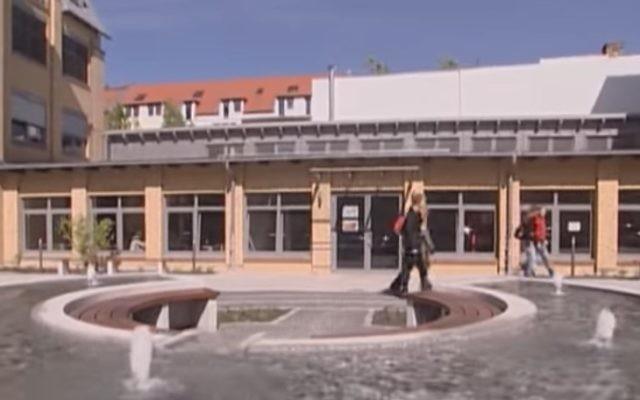 L'établissement de formation professionnelle Blindow de Leipzig, en Allemagne. Illustration. (Crédit : capture d'écran Youtube)
